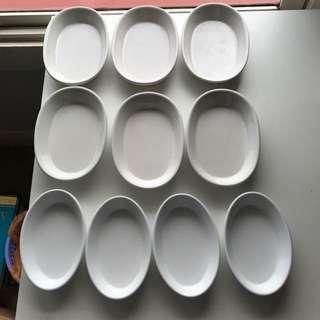 Assortment Of Saucers