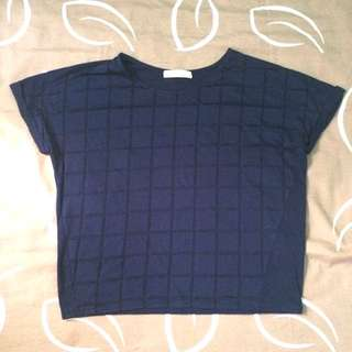 T-Shirt Pattern Blue