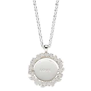 Karen Walker LOVE/HATE MOOD PENDANT SILVER