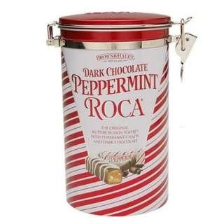Dark Chocolate Peppermint Roca