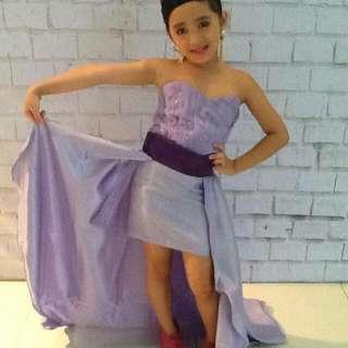 radiant violet gown