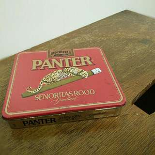 Panter Cigarette Case. Empty