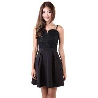 BNIB MGP - Prive Lace Dress in Black (Size: M)