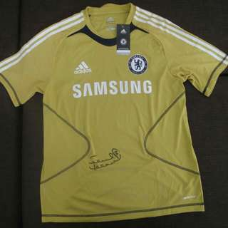 2011 Frank Lampard Autographed Jersey