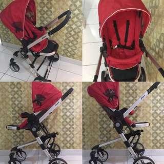 Preloved Halford Zuzz 4 stroller
