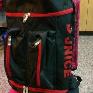 (9成新)JNICE久耐司羽球後背包