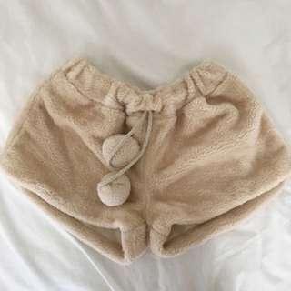 Fur Shorts