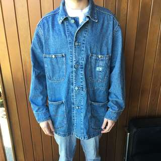 Calvin Klein Vintage Large Denim Jacket