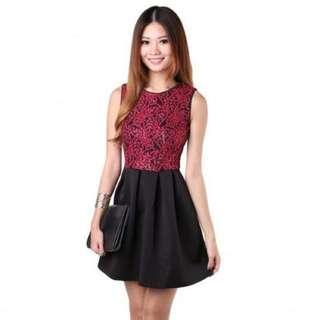 BNIB MGP - Julianda Dress in Red (Size: M)