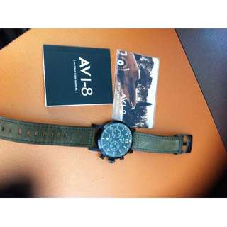 AVI- 8 HAWKER HURRICANE WATCH (MINT CONDITION