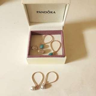 NEW Pandora Earring Parts