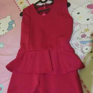 Jumpsuit Pink