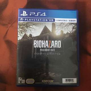 PS4 惡靈古堡7 中文版