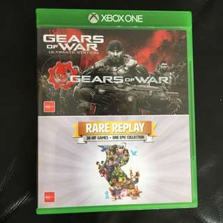 Gears of War Ultime Edition And Rare Reply 30 Hit Games