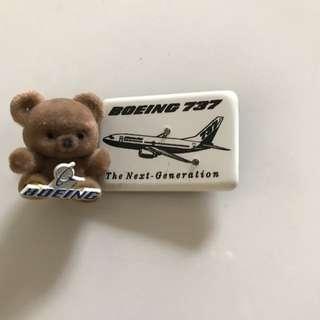 Vintage Boeing Pins