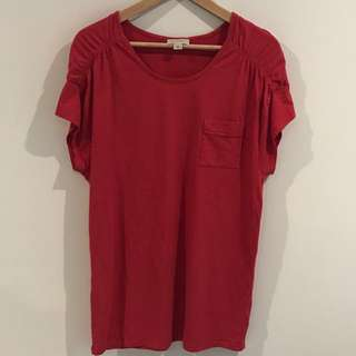 WITCHERY | Red T-Shirt | Small