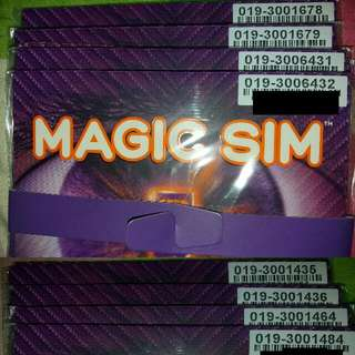 CELCOM MAGIC SIM STARTER PACK VIP NUMBER