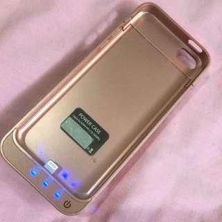 Powerbank Case Rosegold Iphone 5/5s/5c
