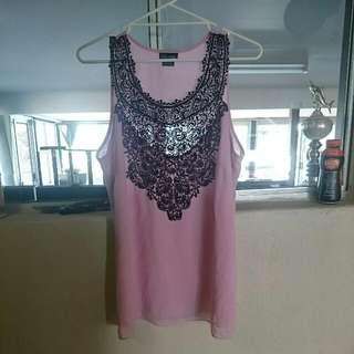 City Chic Size XS Top