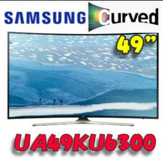 "Samsung 49"" Curved UHD TV"