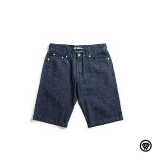 全新Squad 牛仔短褲 深藍