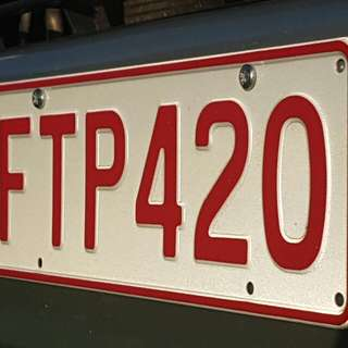FTP42O Personalised Number Plate
