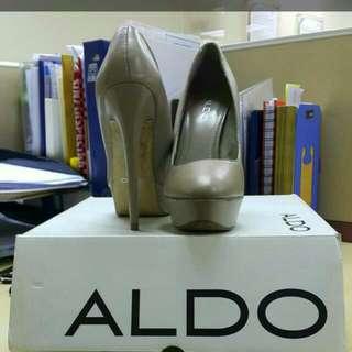 Pre 💖💖💖💖 Aldo Nude Pump Heel