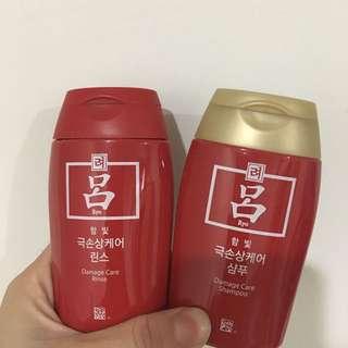 ✨韓國首選✨呂 洗護旅行組