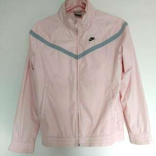 Nike 粉紅 風衣外套