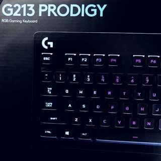 Logitech G213 Prodigy 鍵盤