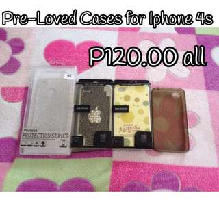 Pre Loved Cases for Iphone 4s
