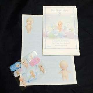 嬰兒信紙(日本購入)