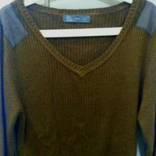 Bell Dark Chocolate Long Sleeve Sweater