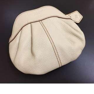 LANCEL 歐洲精品包 法國 手拿包 晚宴包 化妝包 隨身包 零錢包 貝殼包 小包 皮夾 名牌 絕版 巴黎