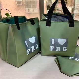 綠色肩背包 墨綠色 上班族 包包 上班包 野餐包 便當袋 小朋友 媽媽最愛 購物袋 防水袋 女生包包 環保袋 摺疊袋