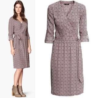 [FREE ONGKIR] H&M Wrap Dress