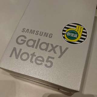 Samsung Note 5 32G銀