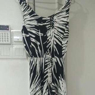 Stretchable Dress Knee Length