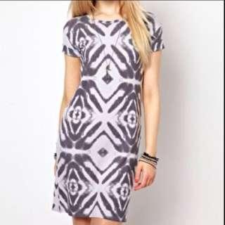 ASOS River island Abstract Printed Shift Dress