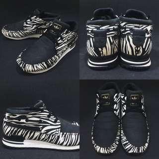 Adidas ZX700 BOAT zebra 斑馬紋