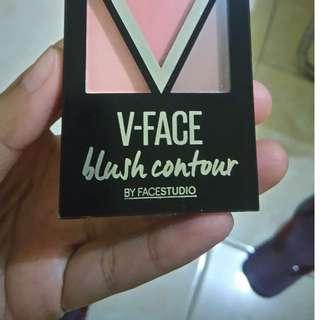 V-Face Blush Contour Maybelline #Preloved