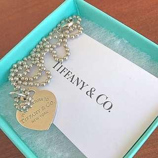 Tiffany & Co. Heart ❤️ Tag Necklace