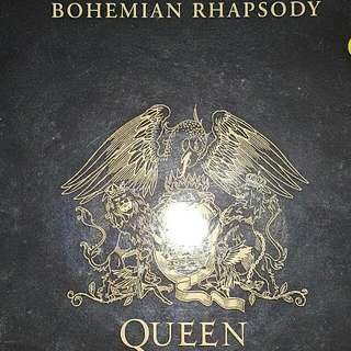 EP RECORD - QUEEN - BOHEMIAN RHAPSODY - THESE ARE THE DAYS OF OUR LIVES - 1991 PRESS