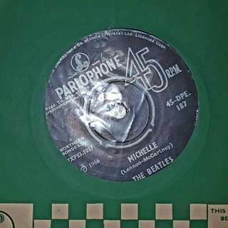 EP RECORD - THE BEATLES - MICHELLE - YOU WON'T SEE ME - 1966 PRESS