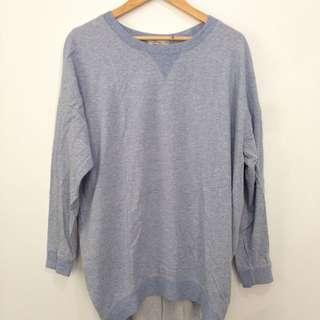 Light Denim Colored Oversized Shirt