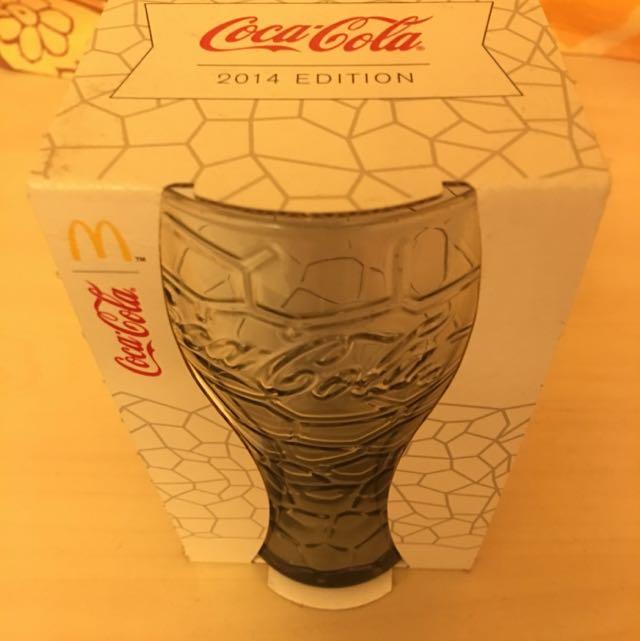 2014 可口可樂 玻璃杯 Coca Cola