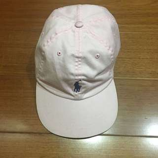 POLO 粉色 老帽