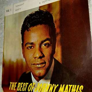 EP RECORD - JOHNNY MATHIS - THE BEST OF - TONIGHT - MISTY - MY LOVE FOR YOU - A CERTAIN SMILE