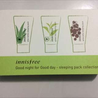 Innisfree Sleeping Mask Set
