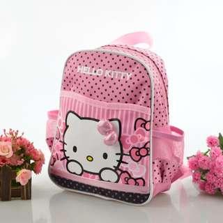 韓版Hello Kitty兒童迷你書包 卡通彩印幼兒雙肩背包